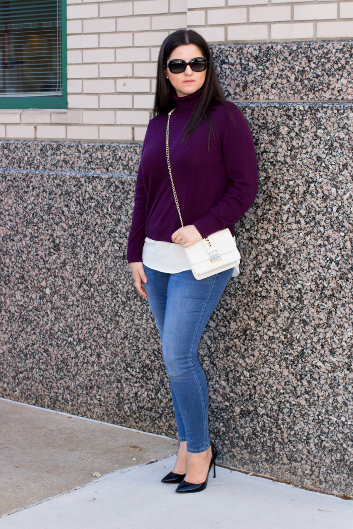 How to style a Turtleneck sweater Baily Lamb