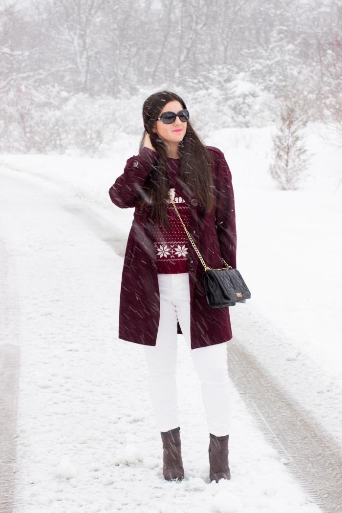 Winter White Pants | Baily Lamb