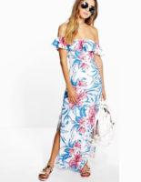 must have summer dresses under $100, summer dresses sale, clearance dress, end of summer sales, fashion under $100, off the shoulder dress, floral print dress, maxi dress