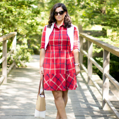 Plaid Dress for Fall