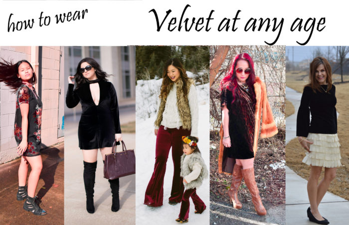 how to wear velvet at any age, trend at any age,