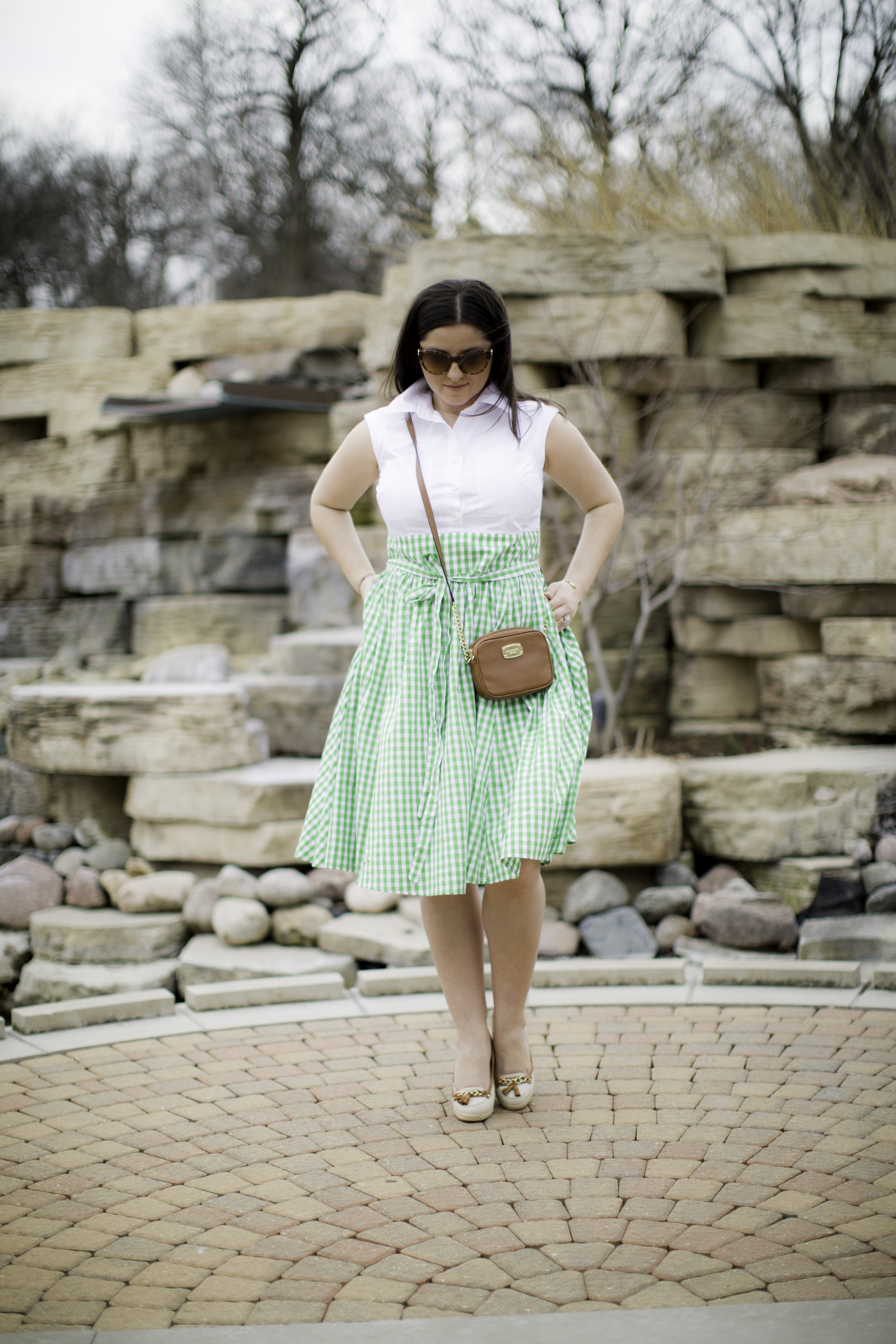 how to find a dress that fits perfectly, custom dress from eShakti, bailylamb