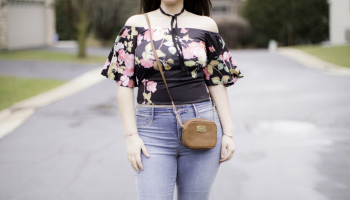 How to style an off the shoulder top for a date night