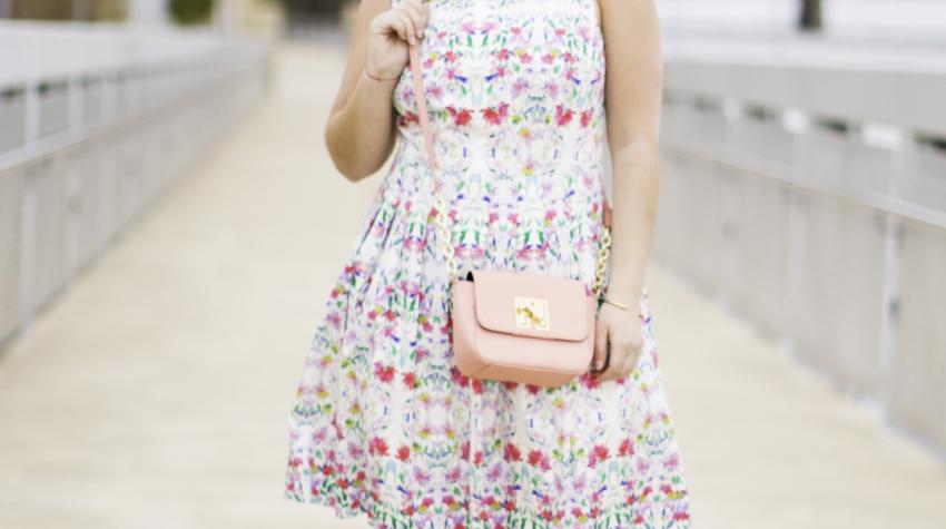 talbots dress, floral summer dress, womens floral dress, talbots summer collection, bailylamb, chicago blogger