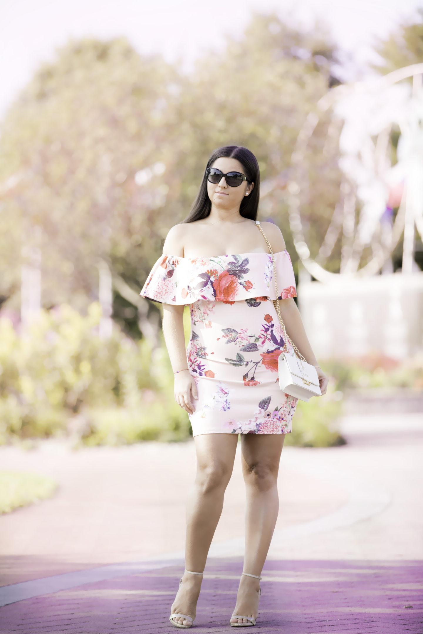 Missbella Floral Dress