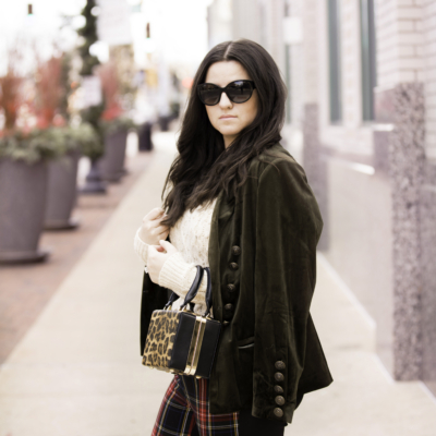 How To Style A Velvet Jacket For Winter