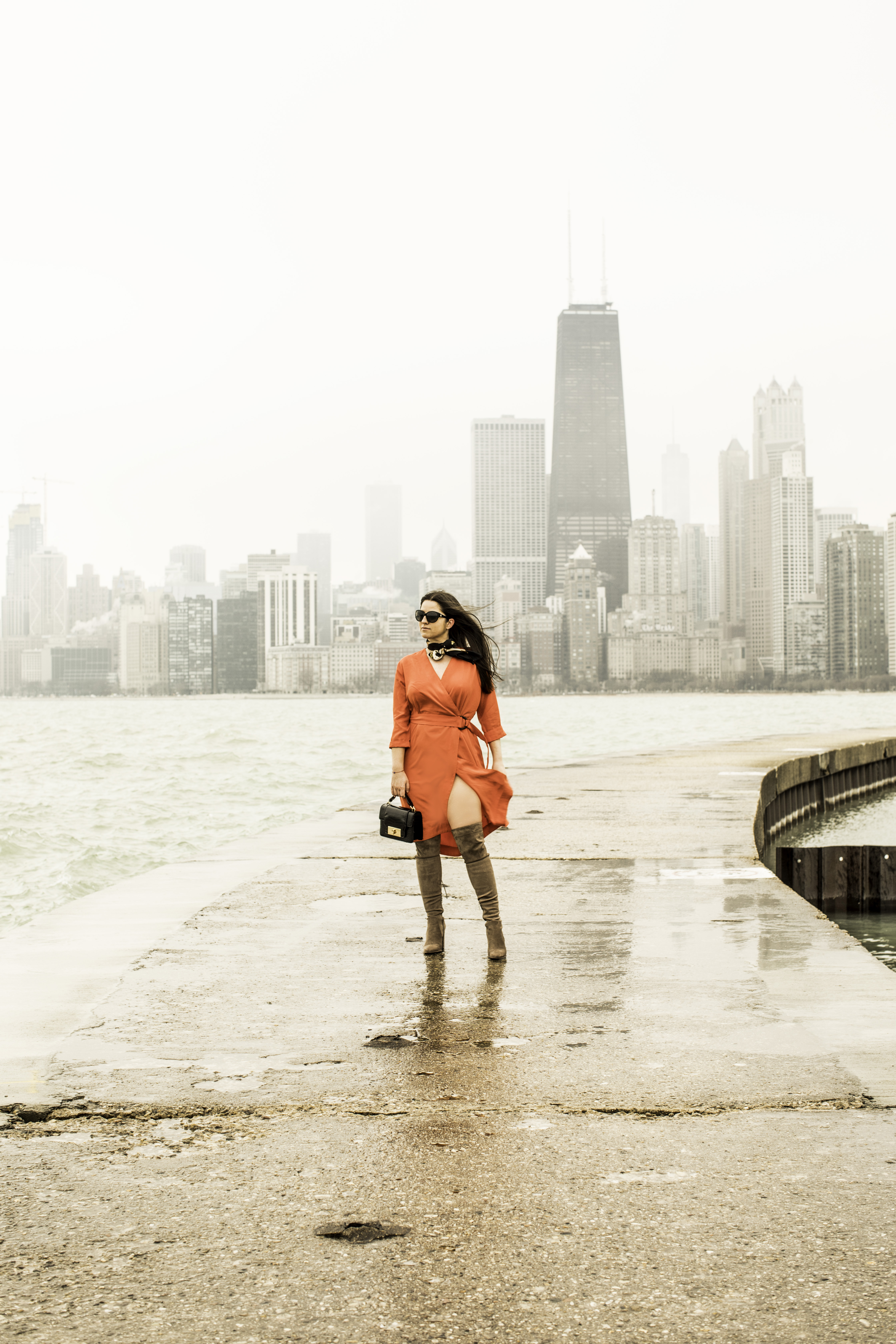 everything seems to be falling apart, perfect spring dress, soft surroundings, baily lamb, chicago blogger